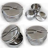 Helikon-tex набор посуды 3 предметн. из нержавеющей стали