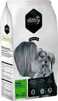 Корм для собак AMITY Mini Adult 10 кг для мелких пород с курицей и ягнёнком