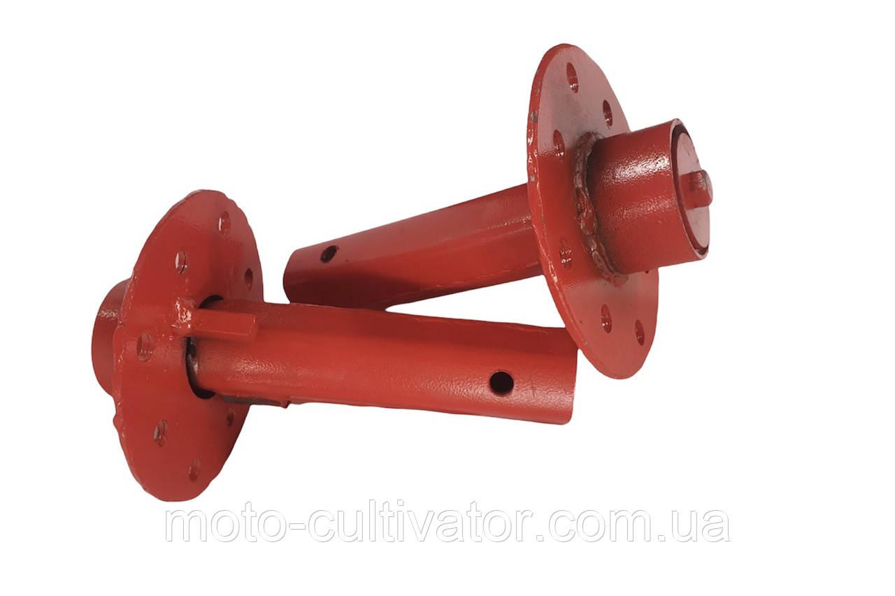 Полуось дифференциальная универсальная для мотоблока и жигулевских колес (L=170 мм, d=32 мм)