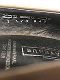 Кожаные женские туфли на высоком каблуке и танкетке, фото 10