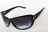 Прямоугольные женские очки с тонированными линзами, фото 1