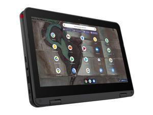 "Lenovo 500e Chromebook Gen 3 82JB0001US 11.6"" Touchscreen Rugged 2 in 1 Chromebook - HD - 1366 x 768 - Intel"