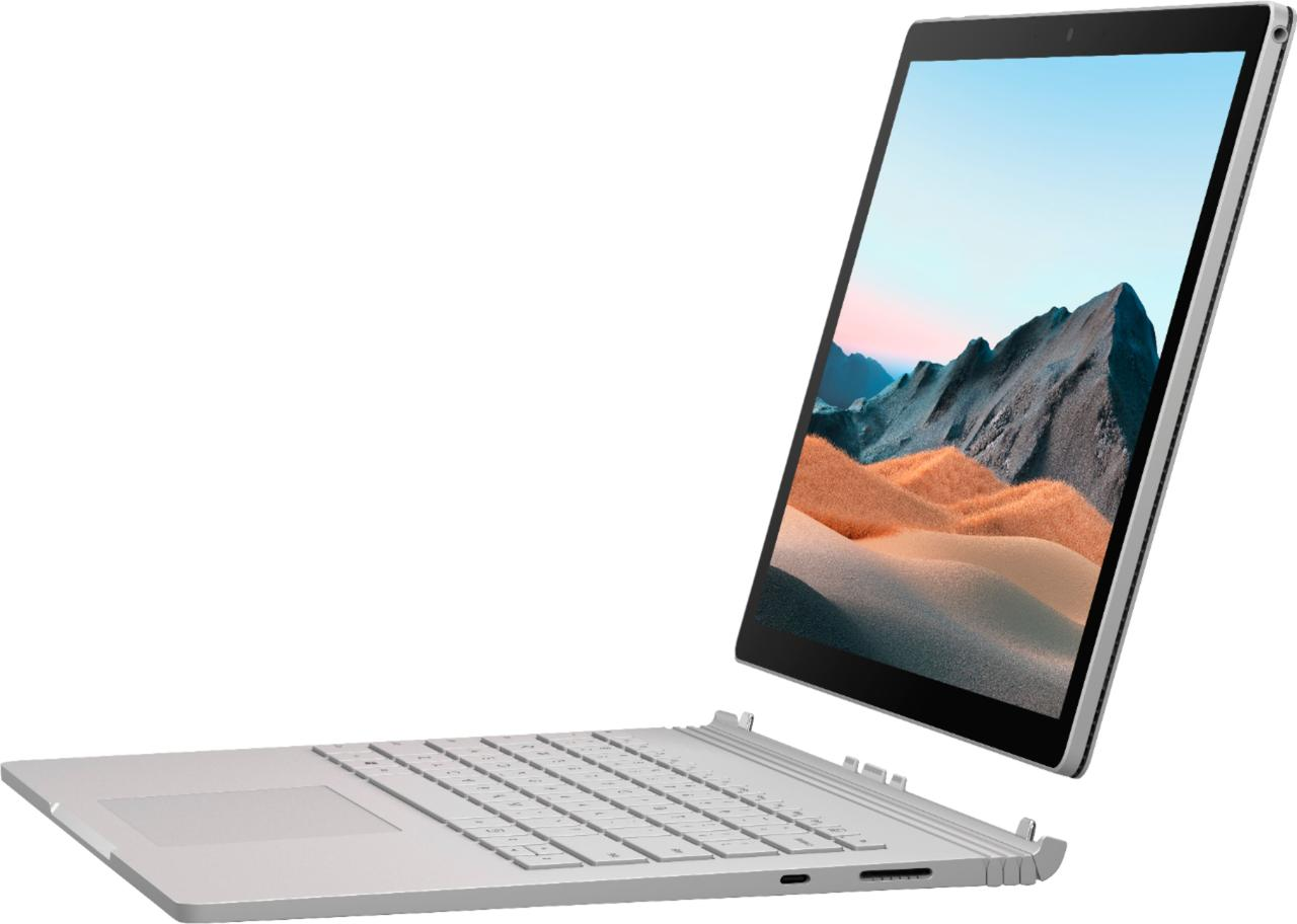 """Microsoft - Surface Book 3 13.5"""" Touch-Screen PixelSense™ - 2-in-1 Laptop - Intel Core i7 - 32GB - SLK-00001"""