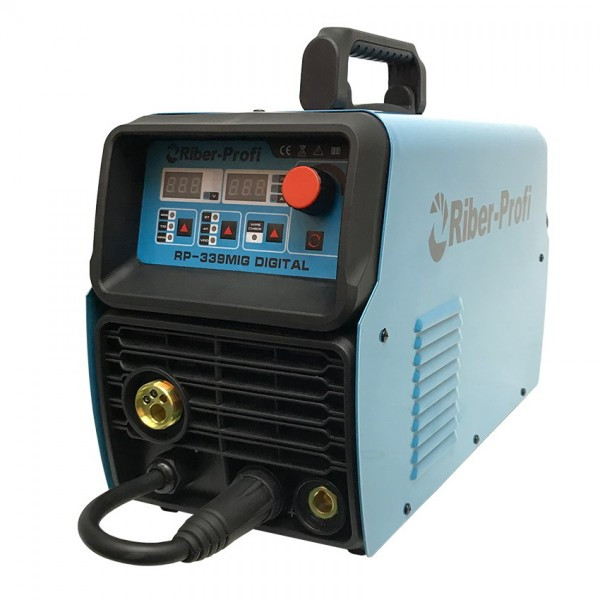 Зварювальний інверторний напівавтомат Riber Profi RP 339 MIG DIGITAL 3 в 1