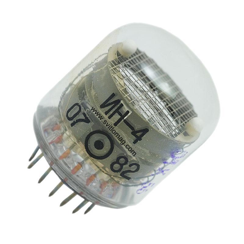Лампа ИН-4 индикатор тлеющего разряда
