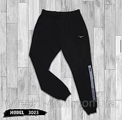 Чоловічі зимові спортивні штани з карманами 3-х нитка