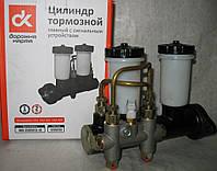 Цилиндр тормозной главный УАЗ 452, 469 старого образца-2 бачка, с сигнальным устройством <ДК>