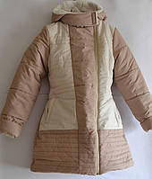 Куртка зимняя для девочки рост 130 -140, ТМ Одягайко, фото 1