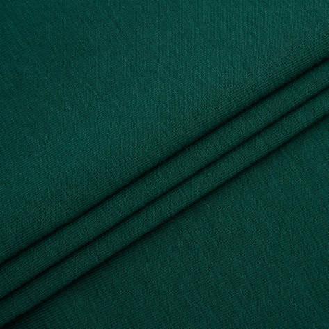 Футер трехнитка Penye на флісі, темно зелений (пляшка), з начосом, купити оптом, Україна, фото 2