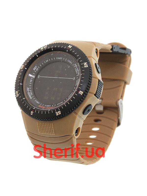 Часы Skmei 0989 Coyote реплика тактических часов 5.11 Tactical