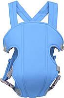 Слинг рюкзак для ребенка кенгуру Baby Carriers носитель Голубой