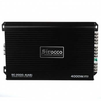 Усилитель Sirocco CAR AMP SC 2000 4CH 4000 W