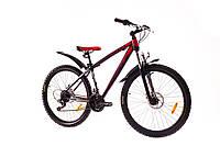 """Велосипед 26"""" Formula BLIZZARD AM 14G DD рама-16"""" St черно-красный (м) 2016"""
