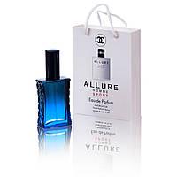Chanel Allure Homme Sport  (Шанель Аллюр Хоум Спорт)  в подарочной упаковке 50 мл.(реплика)