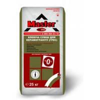 MASTER PROGRES Клей для приклеивания плит из керамогранита, 25 кг