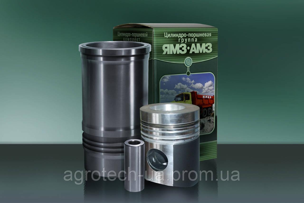 Поршнекомплект ЯМЗ - 238Б с кольцами ОЗПК