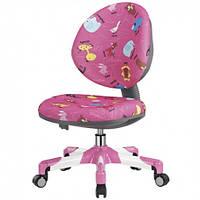 Детское кресло Mealux Y-120 PN розовое со зверятами