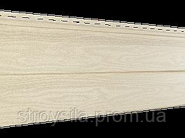 Панель Сайдинга ″Тимбер-Блок″ Кедр Светлый 3,05м*0,23м