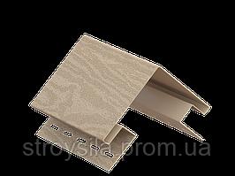 Наружный угол ″Тимбер-Блок″ Кедр Светлый 3,05м