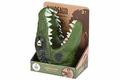 Іграшка Динозавр на руку зелений