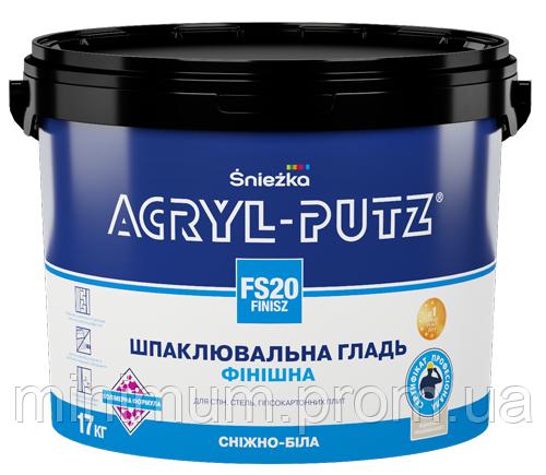 SNIEZKA Акрил Путс финишная шпаклевка 27 кг