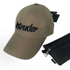 Кепка Intruder bol хаки+ ключница в подарок, фото 3