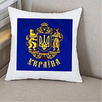 Подушка Україна. Подарки с Украинской символикой, фото 1