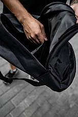 Рюкзак кож.дно черный, фото 2