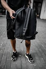 Рюкзак кож.дно черный, фото 3