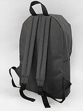 Рюкзак кож.дно темный меланж/дно черное, фото 3
