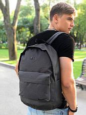 Рюкзак кож.дно темный меланж/дно черное, фото 2