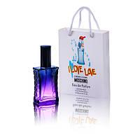 Moschino Cheap and Chic I Love Love (Москино Ай Лав Лав) в подарочной упаковке 50 мл. (реплика)