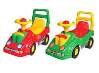 Детский автомобиль толокар для прогулок Технок с телефоном