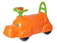 Детский автомобиль толокар для прогулок бегемот Технок