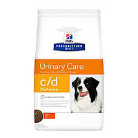 Сухой корм HILL`S (Хилс) Prescription Diet c/d Multicare Urinary Care для собак при мочекаменной болезни 2 кг