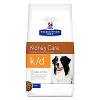 Сухой корм HILL`S (Хилс) Prescription Diet k/d Kidney Care для собак при заболевании почек 2 кг