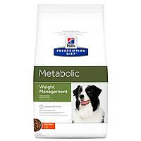 Сухой корм HILL`S (Хилс) Prescription Diet Metabolic Weight Management для собак для коррекции веса 1.5 кг