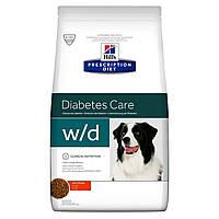 Сухой корм HILL`S (Хилс) Prescription Diet w/d для собак для снижения и контроля веса/сахарный диабет 1.5 кг