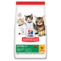 Сухой корм HILL`S (Хилс) Kitten Chicken для котят и беременных и кормящих кошек курица 0.3 кг