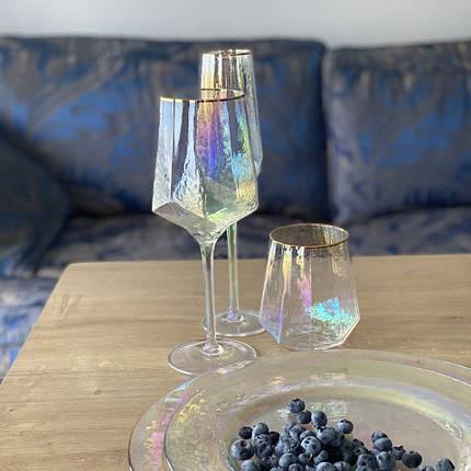 Скляний келих Перлина прозорий 600 мл у кафе бар ресторан, фото 2