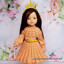 Плаття з рукавом для ляльок Паола Рейна