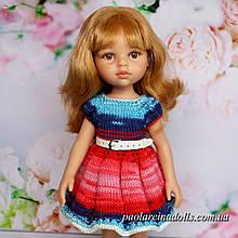 Плаття з рукавом ліхтарик для ляльок Паола Рейну