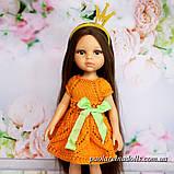"""Ошатне плаття """"Листопад"""" для ляльок Паола Рейну, фото 2"""