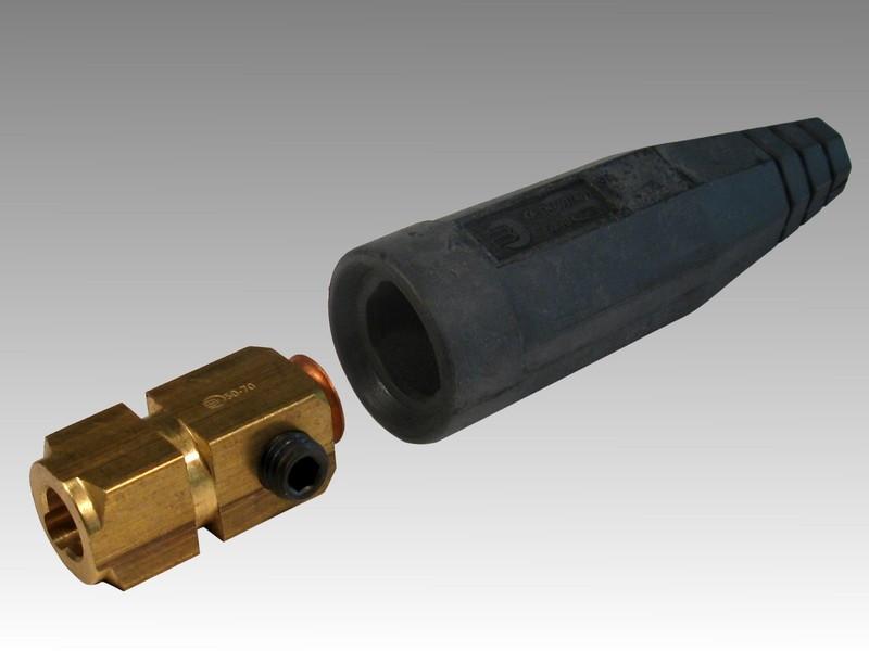 Гніздо для з'єднання кабелів перетином Мама 35-50мм2.