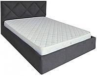Кровать Двуспальная Richman Лидс 180 х 190 см Мисти Dark Grey A1 Темно-серая ZZ, КОД: 2507357