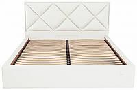 Кровать Двуспальная Richman Лидс 180 х 200 см Флай 2200 Белая ZZ, КОД: 2507637