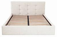 Кровать Двуспальная Richman Манчестер 160 х 200 см Мисти Milk Бежевая ZZ, КОД: 2508617
