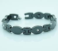 Магнитные браслеты оптом. Шикарные керамические браслеты с фианитами. 507