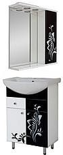 """Комплект мебели для ванной комнаты """"Черно-белая бабочка"""", фото 2"""