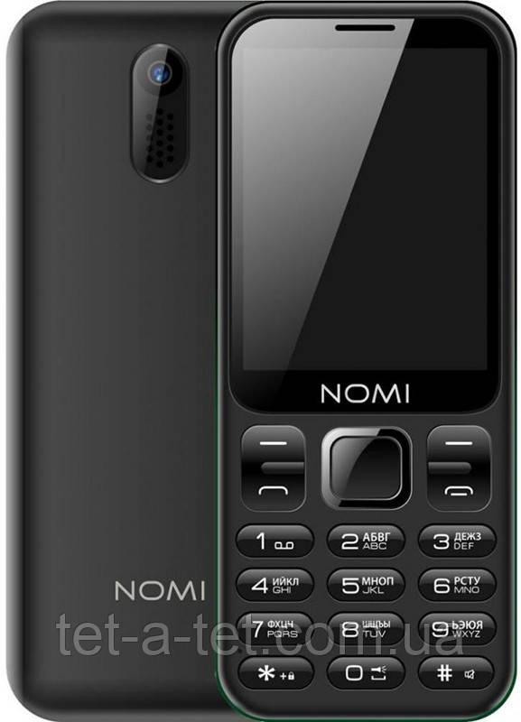 Мобильный телефон Nomi i284 - Черный (Black)